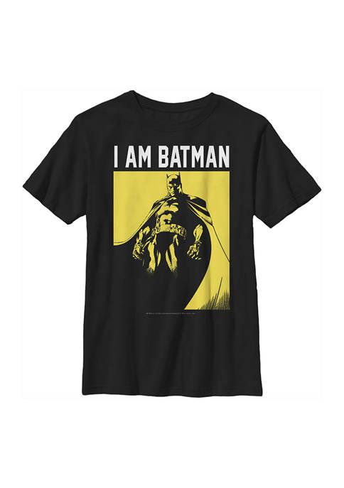 Batman™ Boys 4-7 Me Graphic T-Shirt