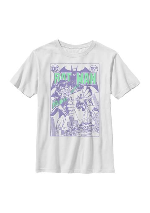 Boys 4-7 Joker Cover Graphic T-Shirt