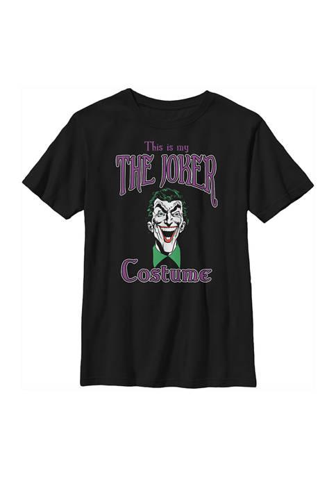 Batman™ Boys 4-7 Joker Costume Graphic T-Shirt