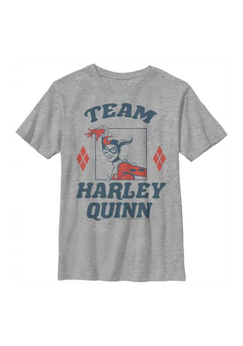 Batman™ Boys 4-7 Team Harley Graphic T-Shirt