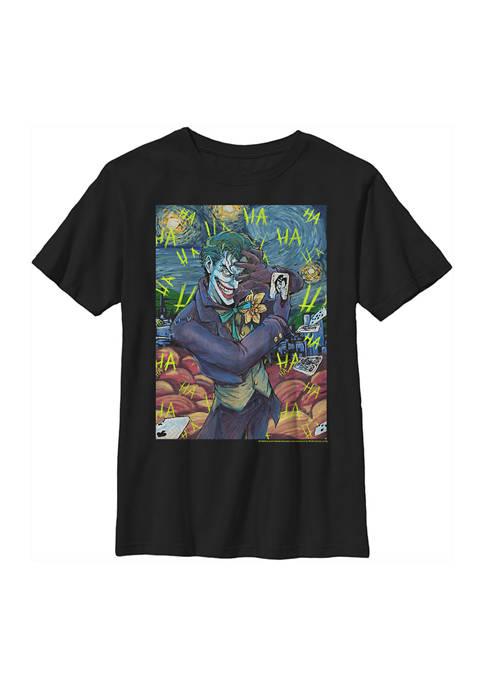 Boys 4-7 Joker Starry Graphic T-Shirt