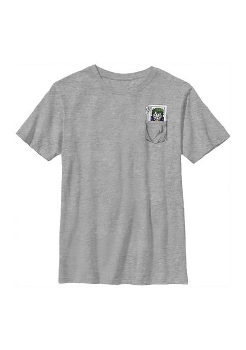 Boys 4-7 Joker Pocket Playing Card Graphic T-Shirt