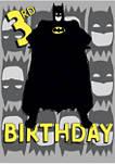 Boys 4-7 3rd Birthday Graphic T-Shirt