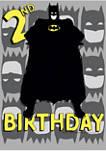 Boys 4-7 2nd Birthday Graphic T-Shirt