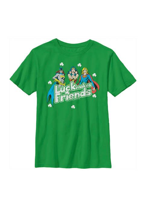 Boys 4-7 Friendly Luck Graphic T-Shirt