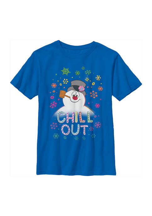 Frosty the Snowman Boys 4-7 Frost Rainbow Chill