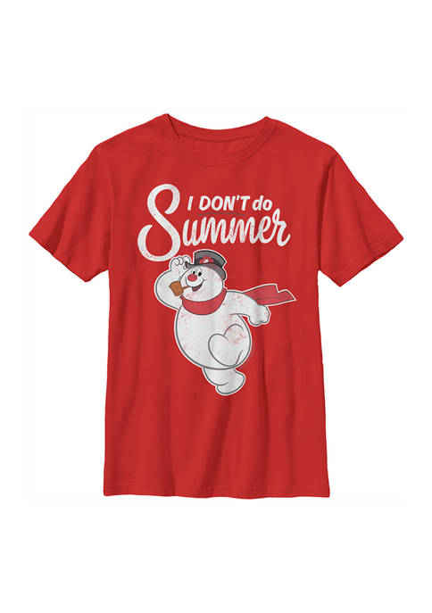 Frosty the Snowman Boys 4-7 No Summer Graphic