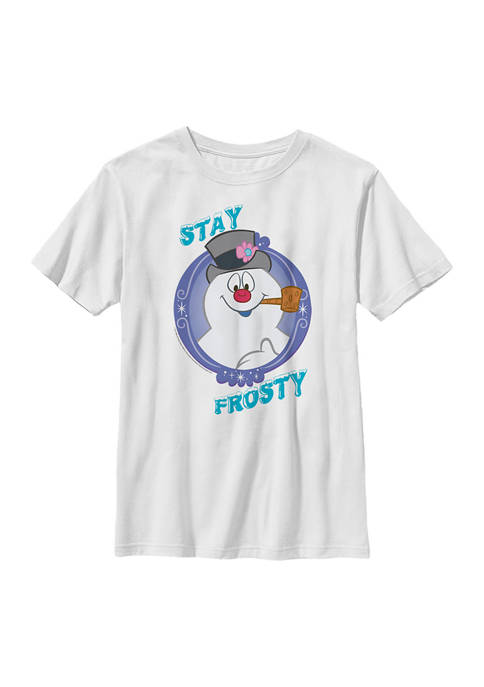 Frosty the Snowman Boys 4-7 Stay Frosty Graphic