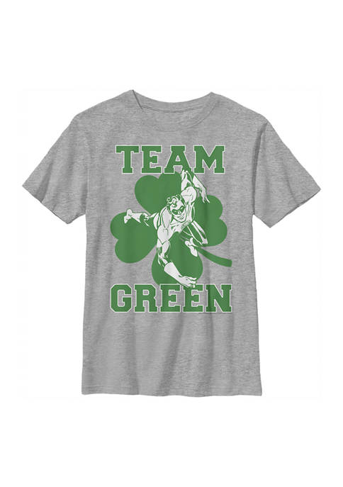 Green Lantern Boys 4-7 Lantern Team Graphic T-Shirt