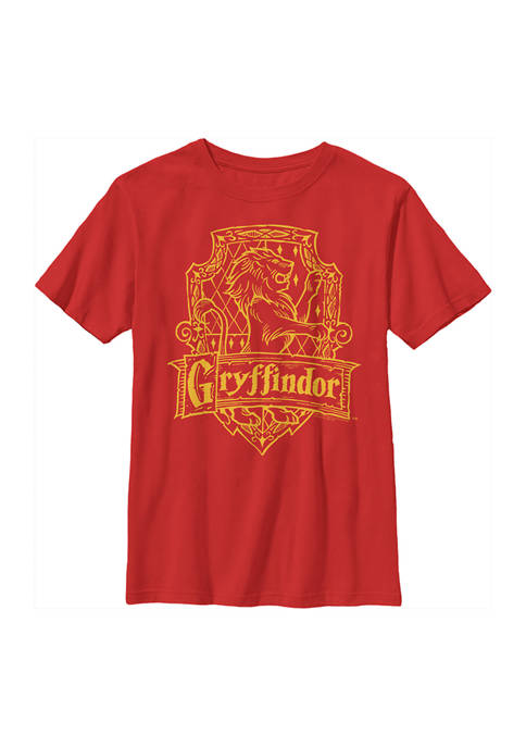 Boys 4-7  Gryffindor Crest Graphic T-Shirt