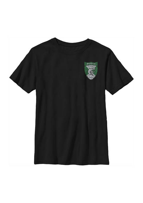 Boys 4-7  Slytherin Shield Pocket Graphic T-Shirt