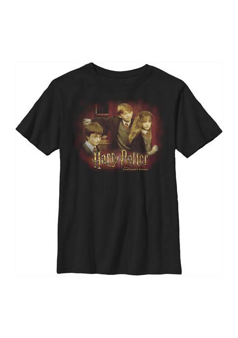 Harry Potter™ Boys 4-7 Train Station Trio Graphic