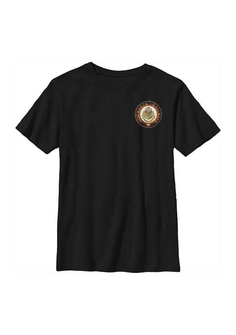 Boys 4-7  Hogwarts Railways Graphic T-Shirt