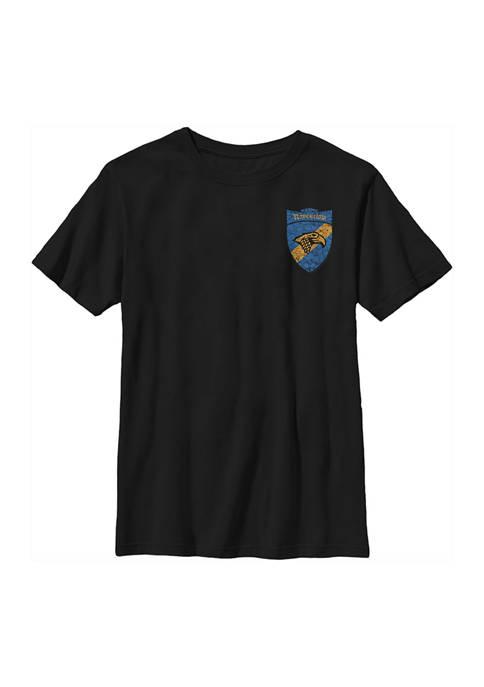 Boys 4-7  Ravenclaw Shield Pocket Graphic T-Shirt