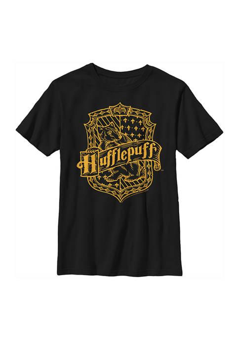 Boys 4-7  Hufflepuff Crest Graphic T-Shirt