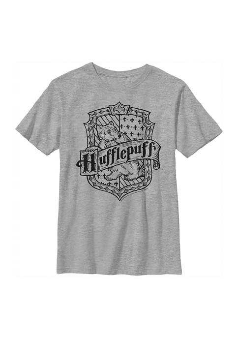 Harry Potter™ Boys 4-7 Hufflepuff Crest Graphic T-Shirt