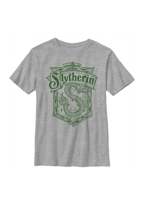 Boys 4-7  Slytherin Crest Graphic T-Shirt