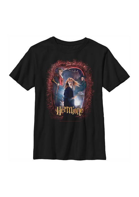 Boys 4-7  Chamber Hermione Banner Graphic T-Shirt