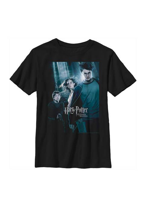 Boys 4-7  Azkaban Forest Poster Graphic T-Shirt