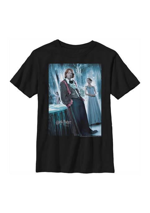 Boys 4-7  Ron Yule Ball Graphic T-Shirt