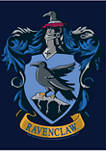 Boys 4-7  Ravenclaw House Crest Graphic T-Shirt