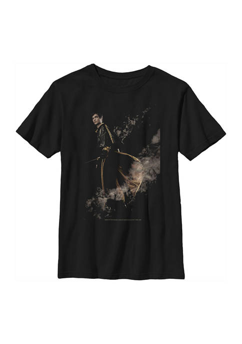 Boys 4-7  Cedric the Hufflepuff Graphic T-Shirt