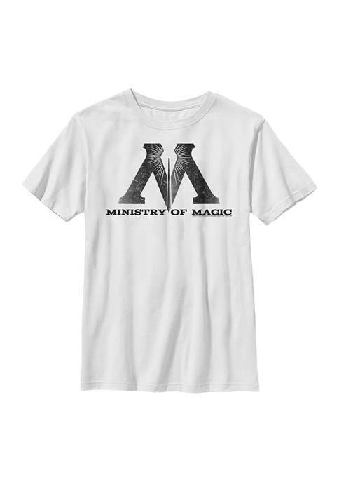 Boys 4-7  Ministry of Magic Logo Graphic T-Shirt