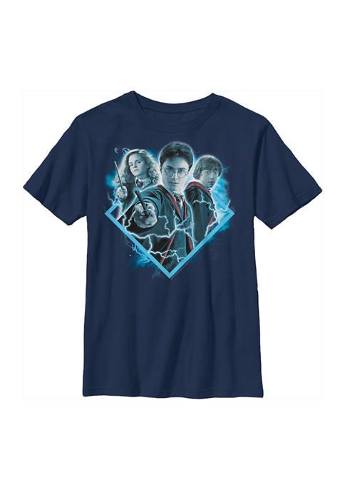 Boys 4-7  Potter Trio Graphic T-Shirt