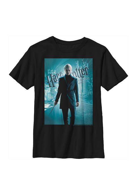 Boys 4-7  Half-Blood Draco Poster Graphic T-Shirt