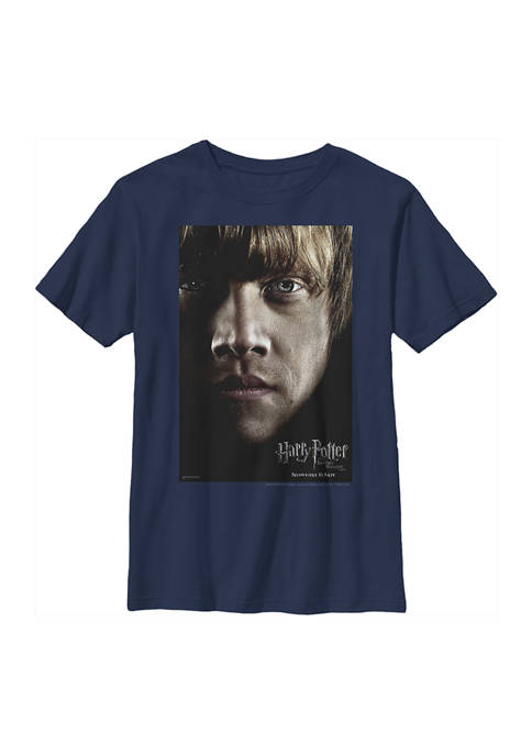 Boys 4-7  Ron Poster Graphic T-Shirt