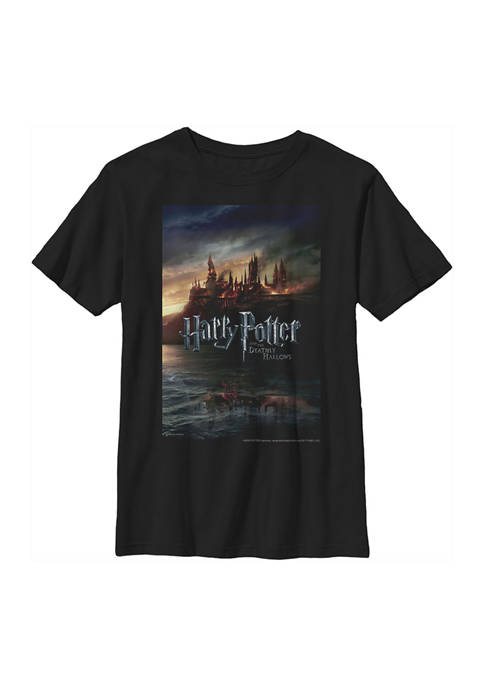 Boys 4-7  Deathly Hallows Poster Graphic T-Shirt