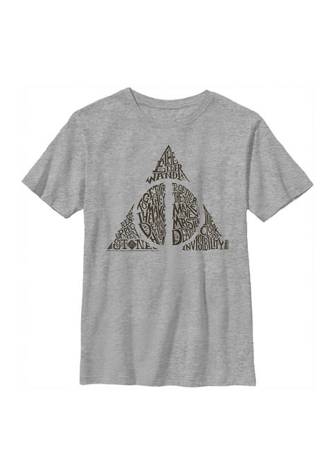 Boys 4-7  Deathly Hallows Graphic T-Shirt