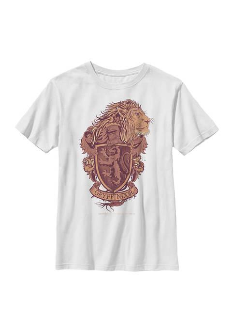Boys 4-7  Gryffindor House Crest Graphic T-Shirt