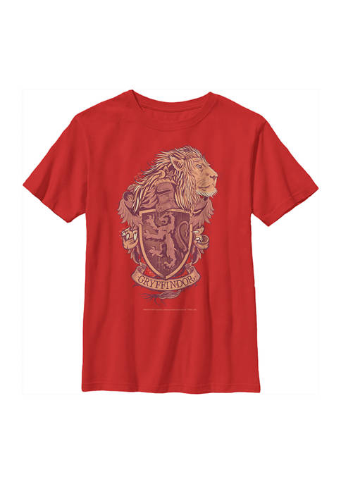 Harry Potter™ Boys 4-7 Gryffindor House Crest Graphic