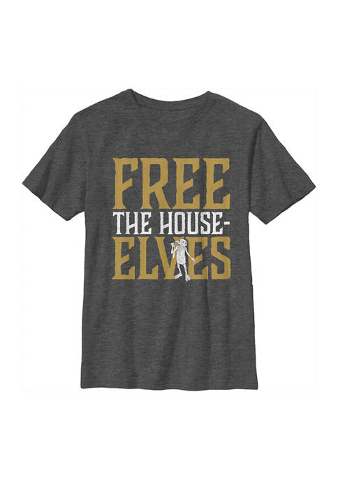 Harry Potter™ Boys 4-7 Free House Elves Graphic