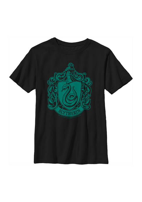 Boys 4-7  Simple Slytherin Graphic T-Shirt