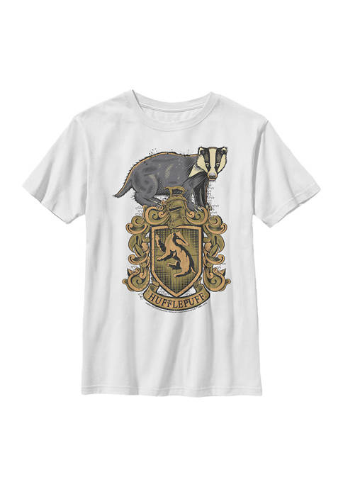 Harry Potter™ Boys 4-7 Hufflepuff House Crest Graphic