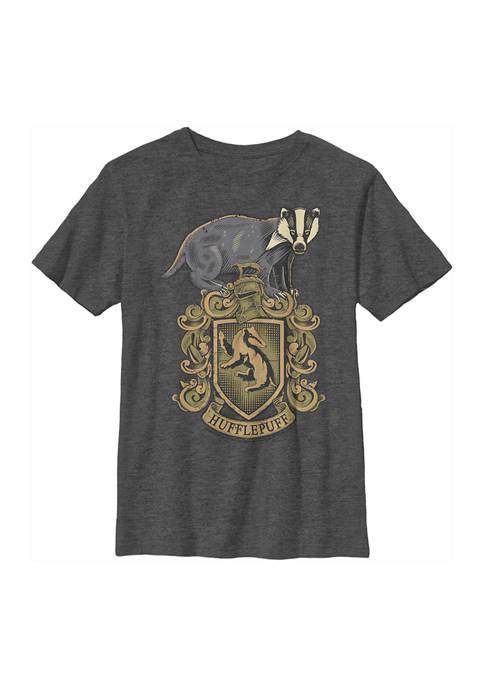 Boys 4-7  Hufflepuff House Crest Graphic T-Shirt