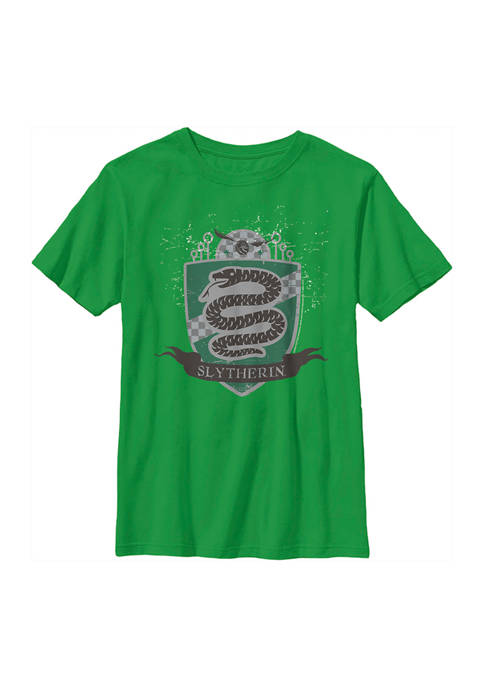 Harry Potter™ Boys 4-7 Slytherin Badge Graphic T-Shirt
