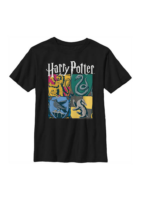 Harry Potter™ Boys 4-7 All Houses Graphic T-Shirt