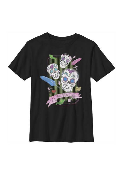 Boys 4-7  Candy Skulls Graphic T-Shirt
