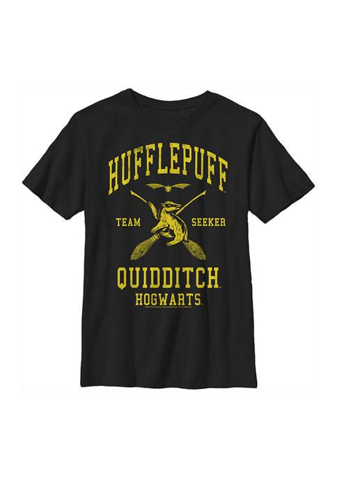 Boys 4-7  Hufflepuff Quidditch Seeker Graphic T-Shirt