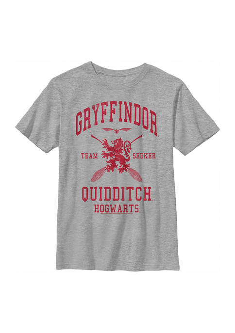 Harry Potter™ Boys 4-7 Gryffindor Quidditch Seeker Graphic