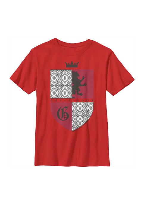 Boys 4-7  Gryffindor Shield Graphic T-Shirt