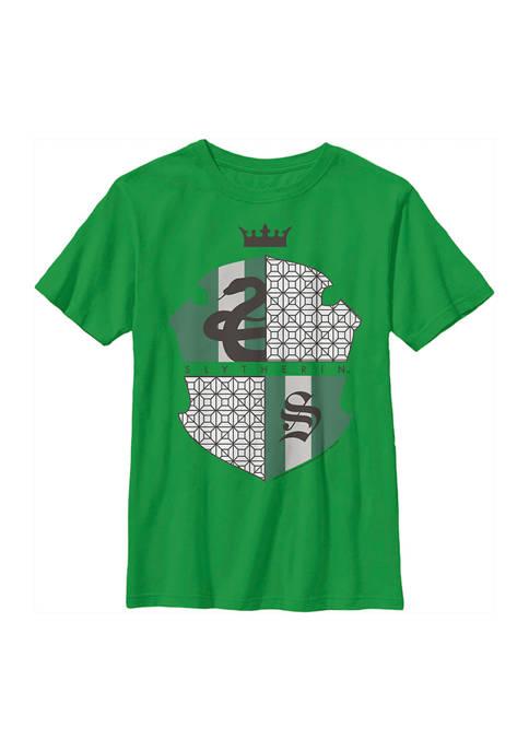 Boys 4-7  Slytherin Shield Graphic T-Shirt