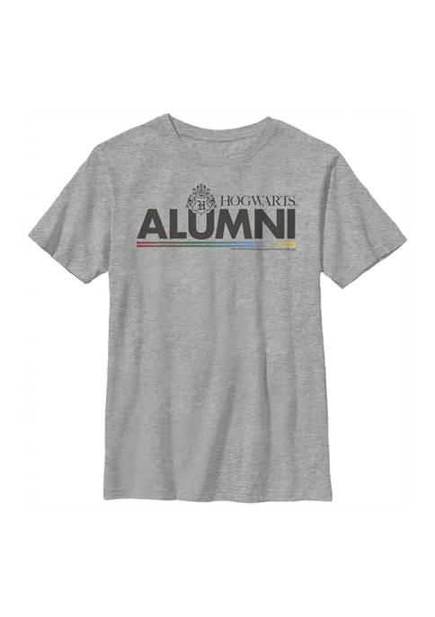 Boys 4-7  Alumni Hogwarts Graphic T-Shirt
