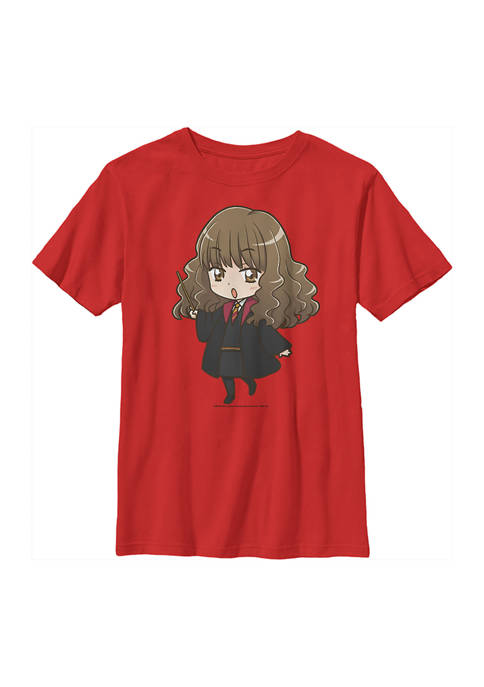Boys 4-7  Anime Hermione Graphic T-Shirt