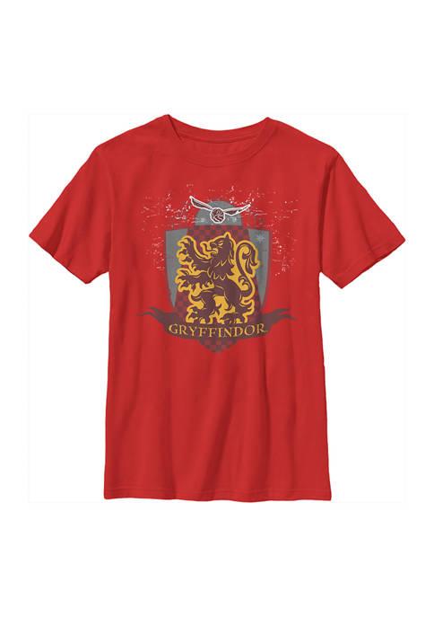 Boys 4-7  Gryffindor Quidditch Graphic T-Shirt