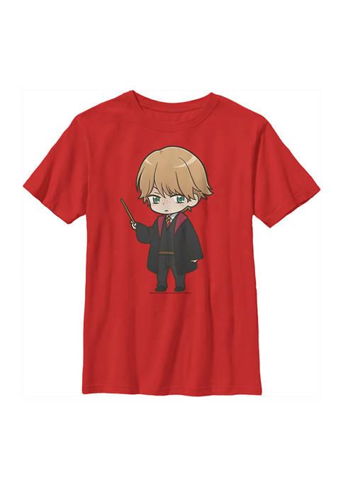 Harry Potter™ Boys 4-7 Anime Ron Graphic T-Shirt