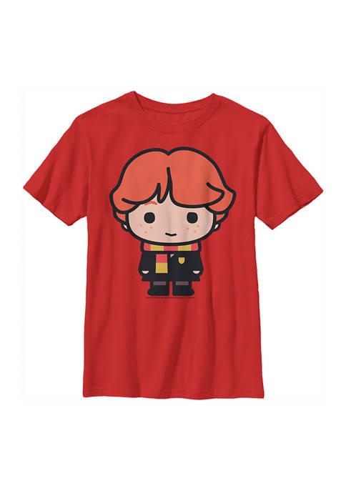 Boys 4-7  Chibi Ron Graphic T-Shirt